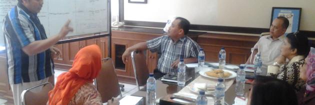 Kunjungan Dewan  Pengawas YPAC Nasional ke PPRBM Prof. Dr. Soeharso YPAC Nasional
