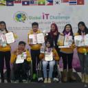 Keberhasilan Tim Indonesia di ajang Kompetisi IT di Busan Korea mid Desember 2014