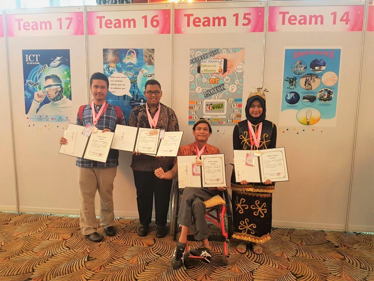 Tim 15 dari Indonesia di GITC 2017