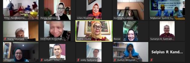 Virtual Meeting YPAC Seluruh Indonesia